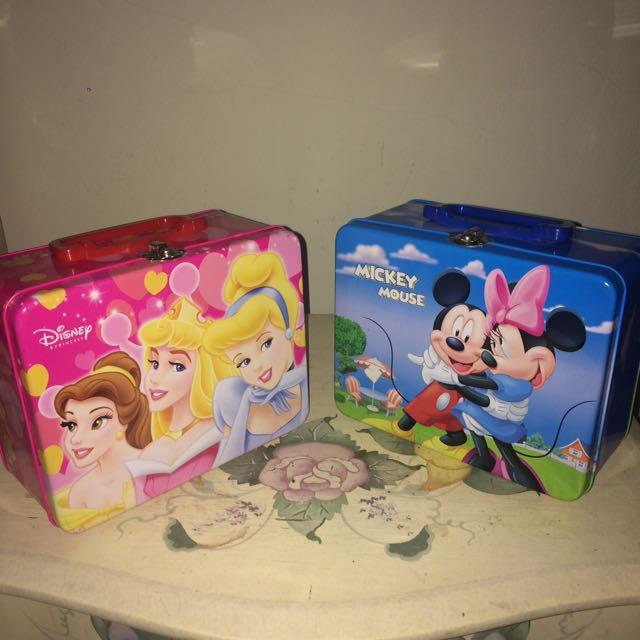 Disney Princess And Mickey Box