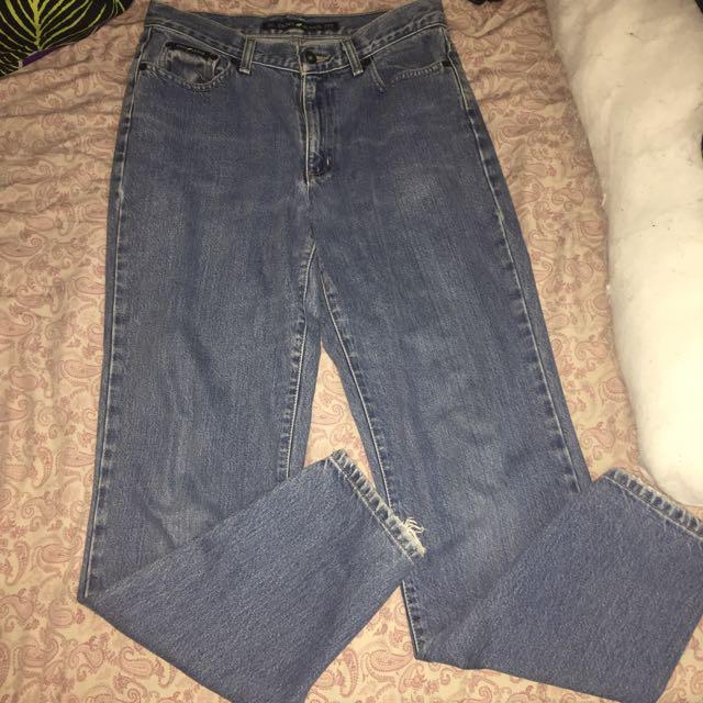 DKNY Mom Jeans