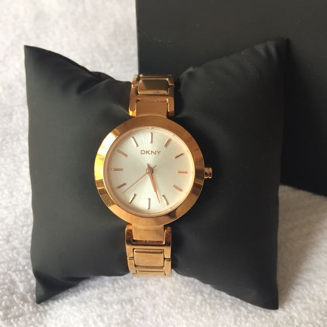 DKNY ROSE GOLD WATCH