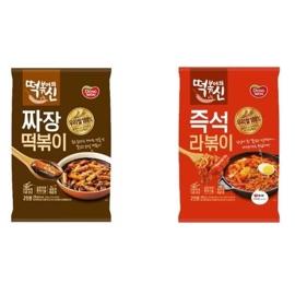 韓國DONGWON辣炒年糕泡麵料理包 榨醬麵