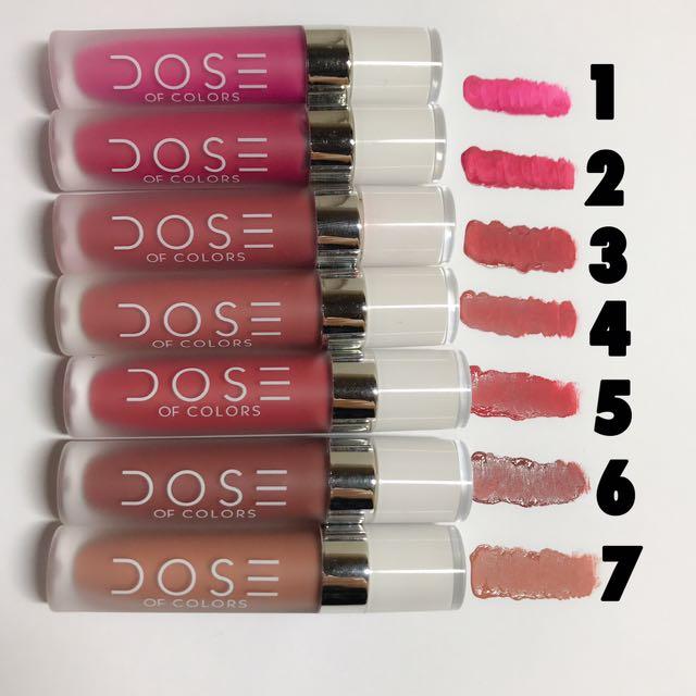 Dose Of Colors Matte Lipstick