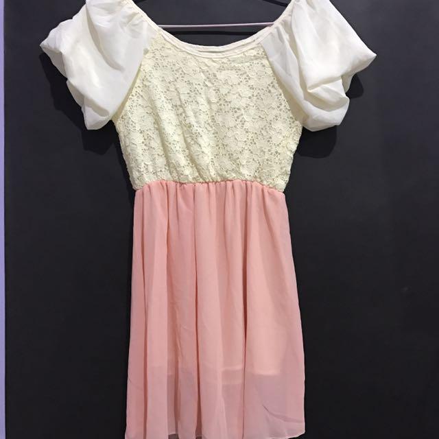 Dress Lace Ala Korea