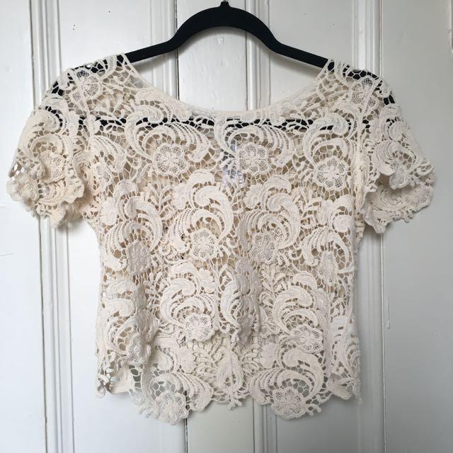 F21 | Crochet Shirt