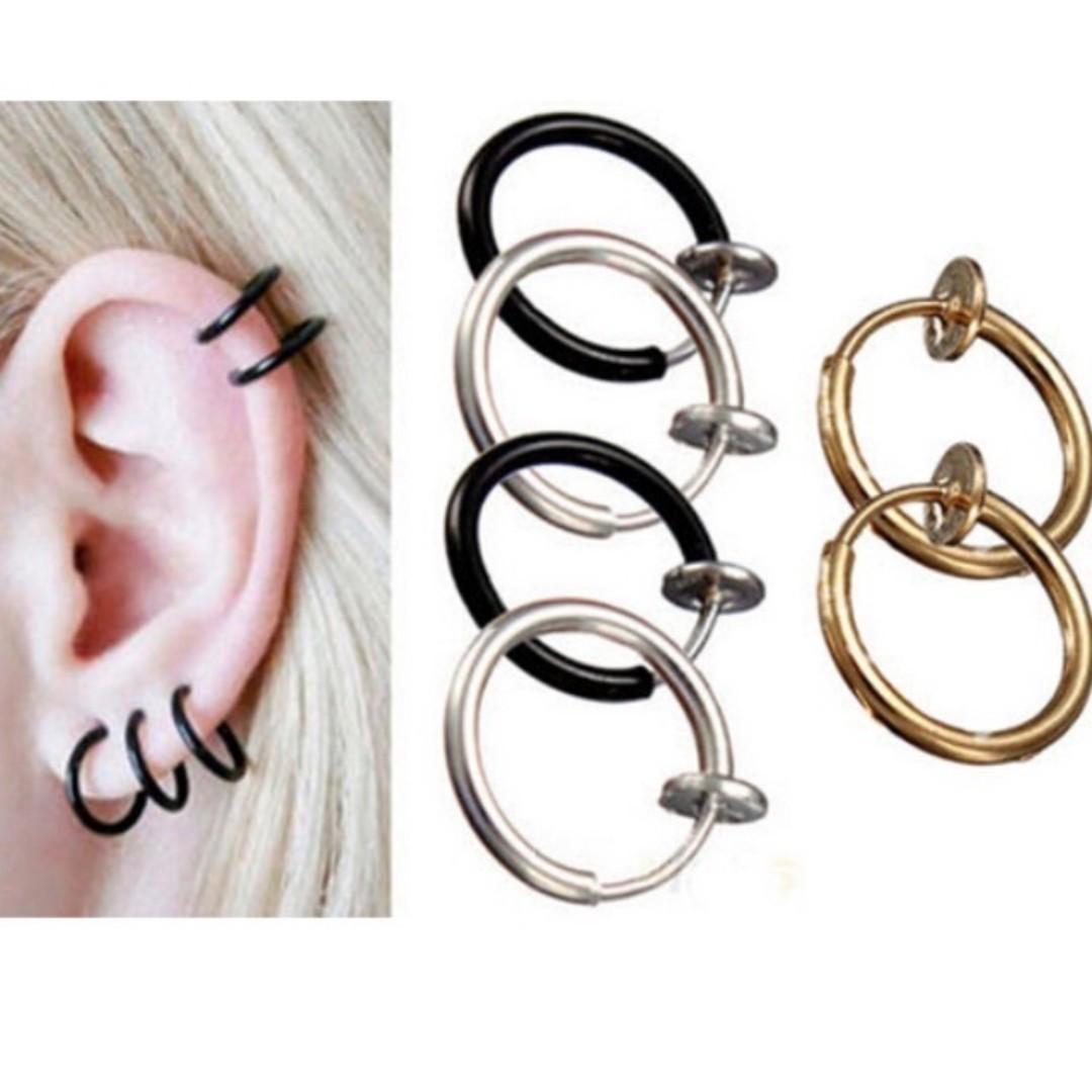 Fake Clip-On Piercings - Regular