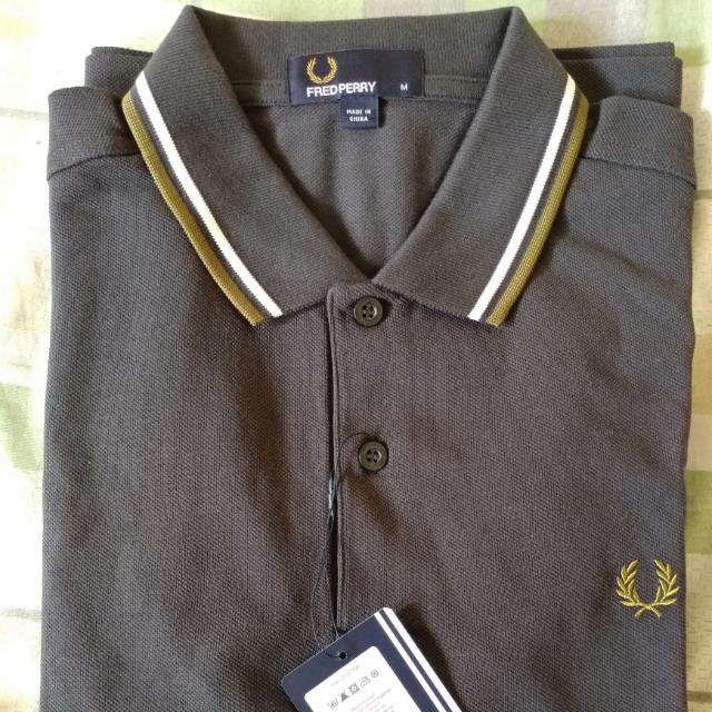 Fred perry Twin Tipped Polo Size M