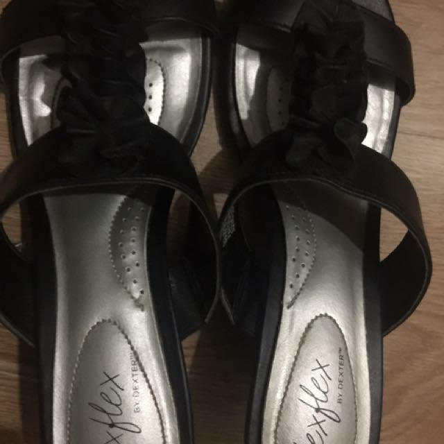 FREE SHIPPING! Black Sandals From Payless