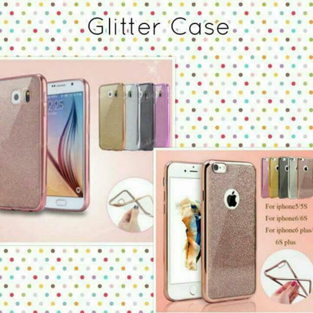 Glitter cases