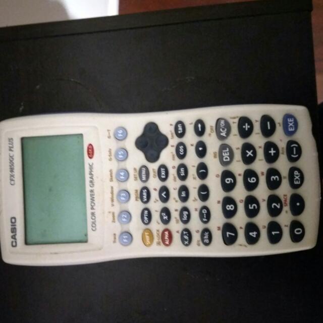 Graphic casio calculator