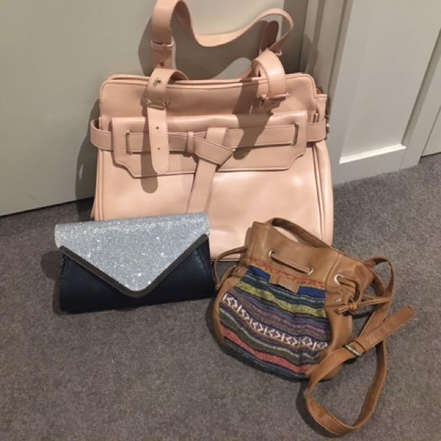 Hand Bag/ Clutch/ Shoulder Bag