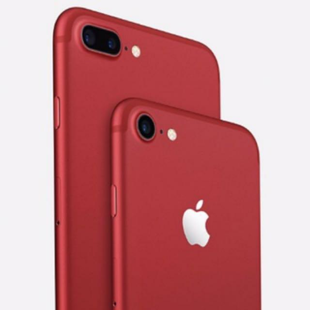 iPhone 7 128GB in Red