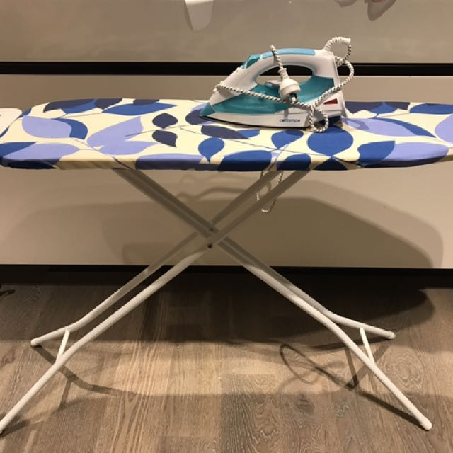 Ironing Board With Iron Included