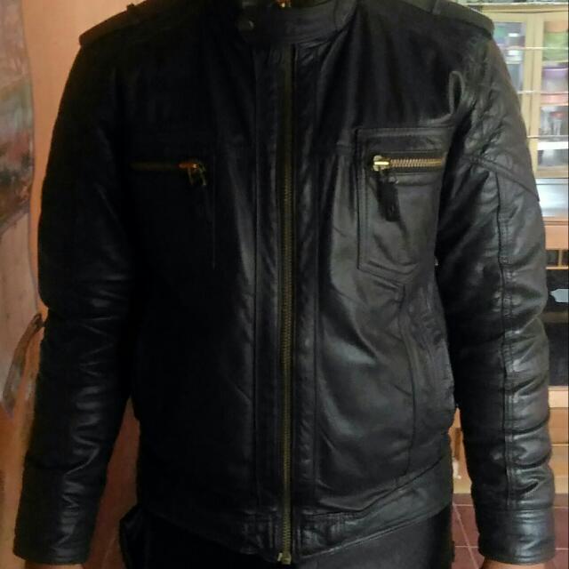 Jaket Kulit Asli Merk Cardinal ORIGINAL slimfit a48d3b1b42