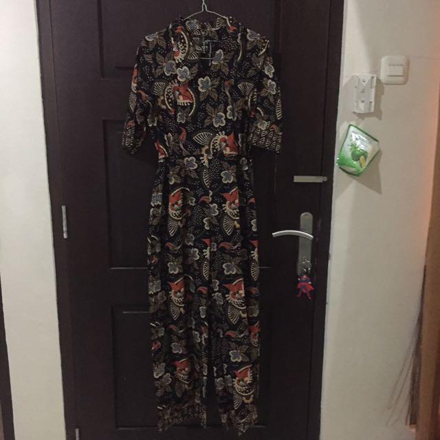 Jumpsuit Batik Fit To L