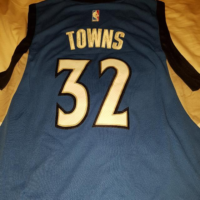 best service c3db2 9ba93 Authentic Karl Anthony Towns NBA Jersey , Men's Fashion ...