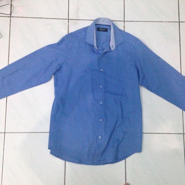 Kemeja EXECUTIVE (Blue, Size 14 1/2)
