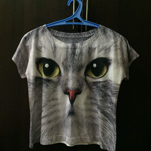 Kitty Crop Top