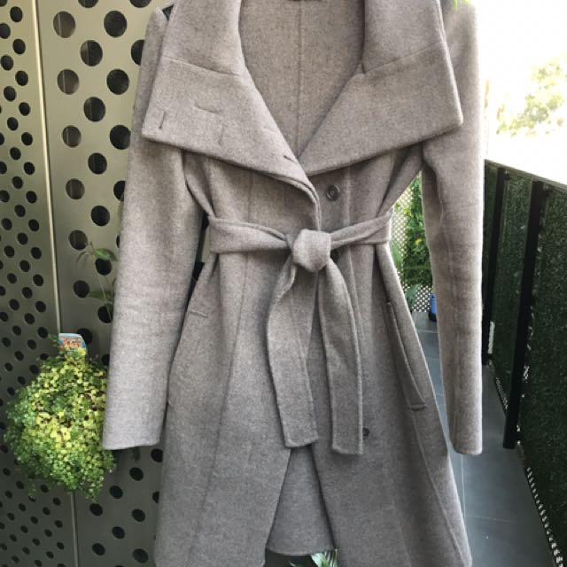 Kookai Coat Size 34 (90% Wool 10% Cashmere)