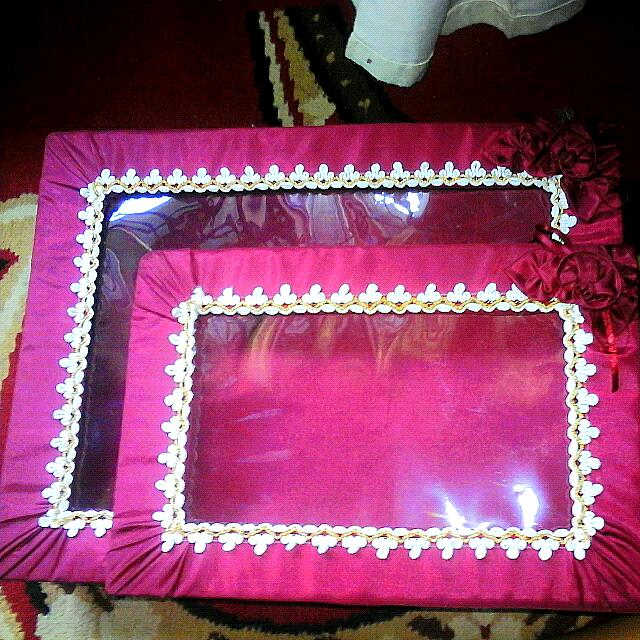 Kotak Seserahan Warna Maroon
