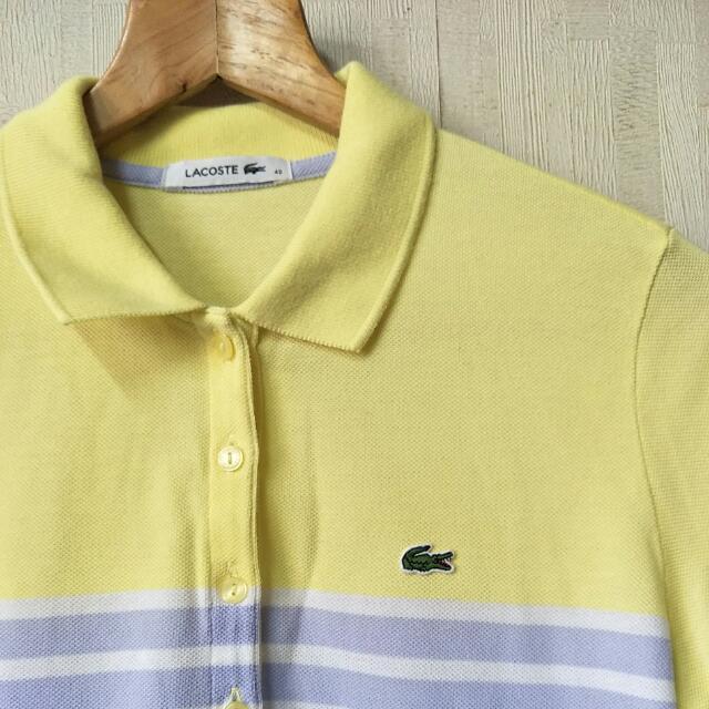🍎Lacoste 鱷魚牌 🐊 全新短POLO衫