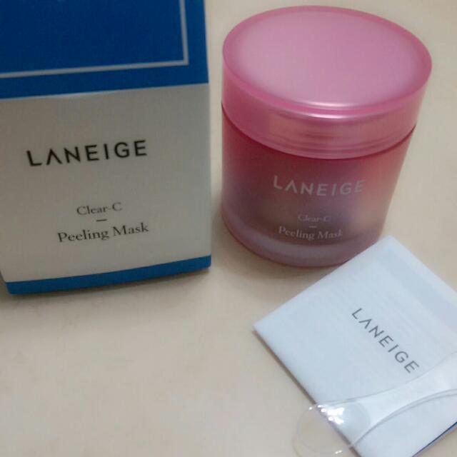 蘭芝LANEIGE超級莓果C角質淨化霜Clear-C Peeling Mask