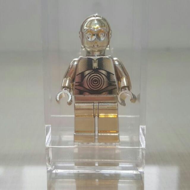Star Wars Figure For Custom Lego Minifigures C3PO Chrome Minifigures