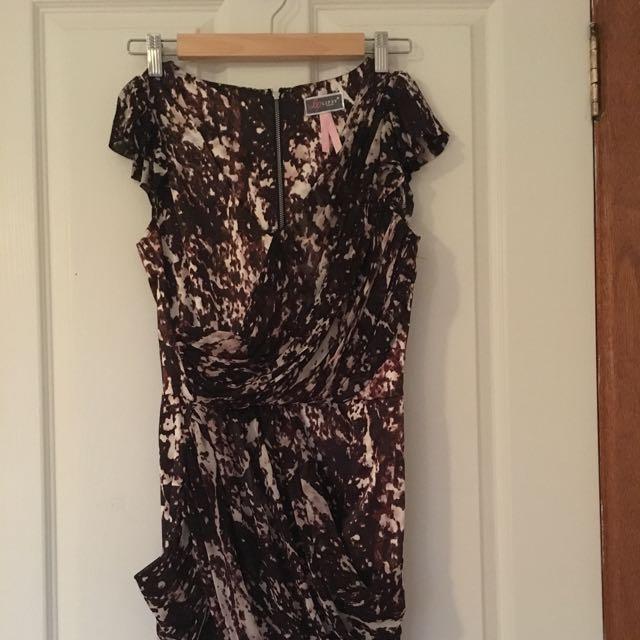 Lipsy brand Silky Wrap Dress