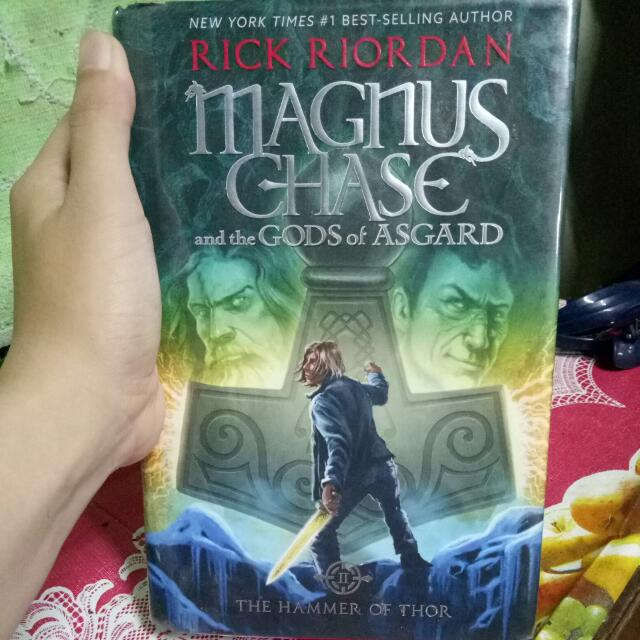 Magnus Chase And The Gods Of Asgard Hammer Thor Book 2 Books