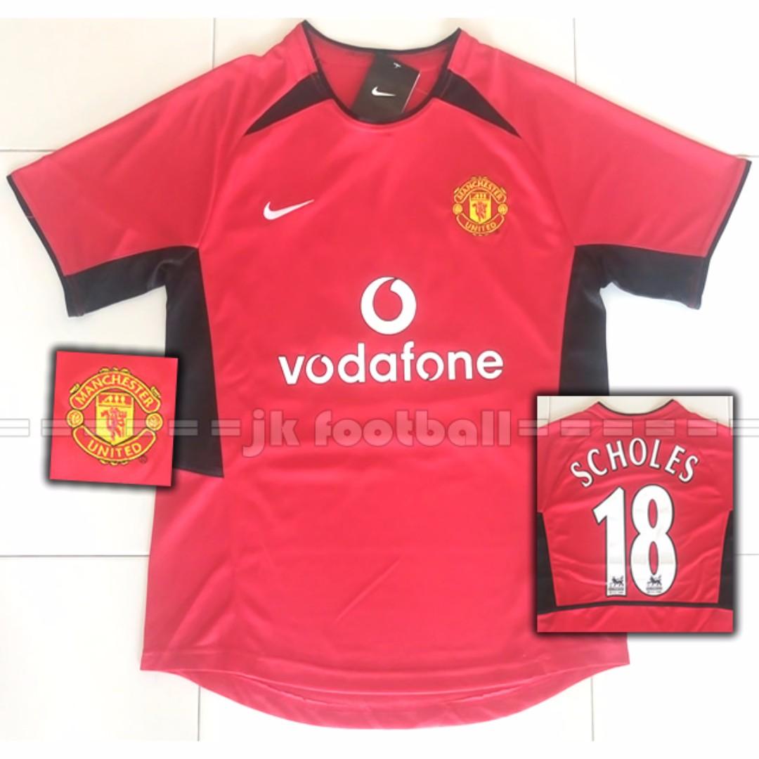 156a75ec12f Manchester United Retro Jersey