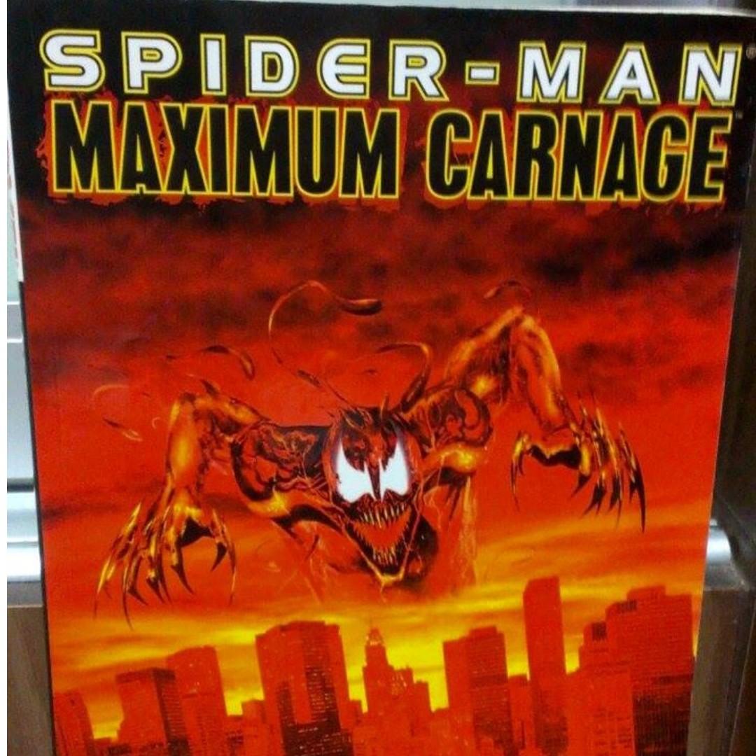 Marvel Comics Spider Man Maximum Carnage Venom Offspring Comic