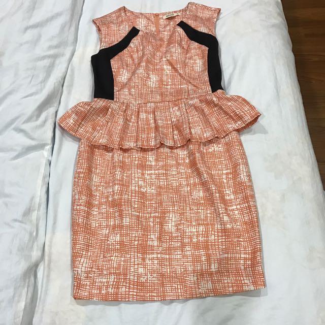 Maxtino Peplum Dress
