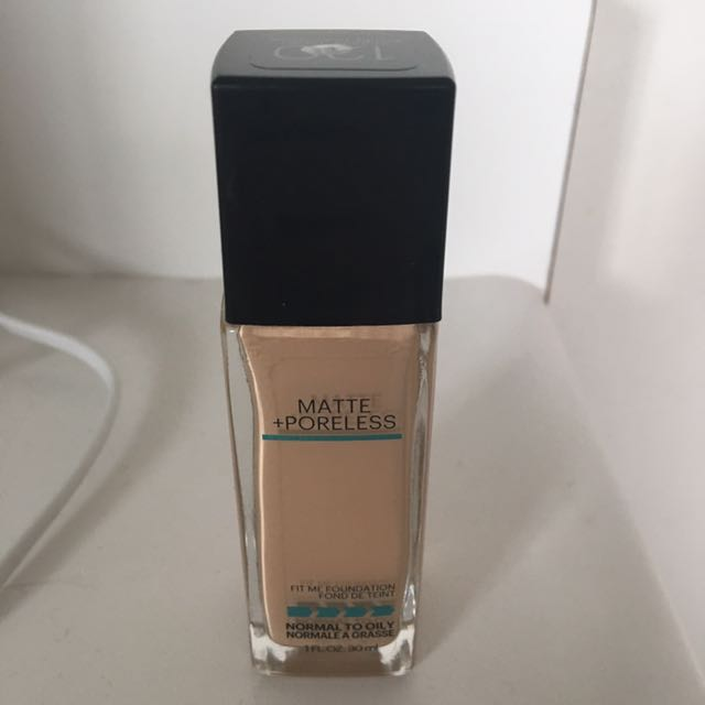 Maybelline Fit Me Foundation Shade 120
