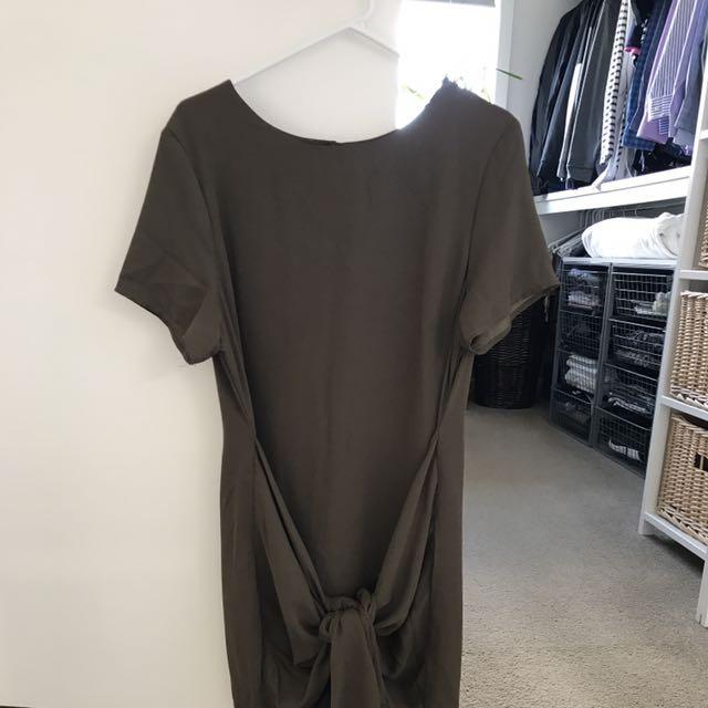 Mika And Gala Martin Dress - Khaki