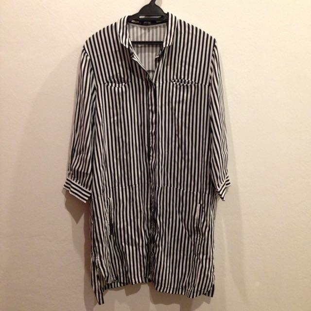 MNG BASICS stripe dress