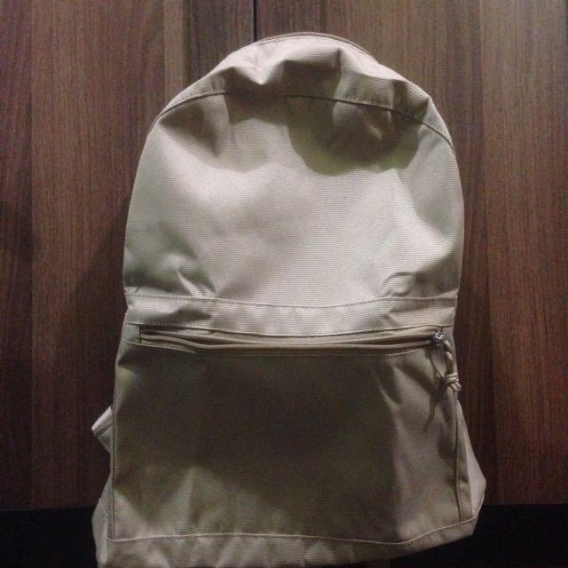 MUJI backpack school for man