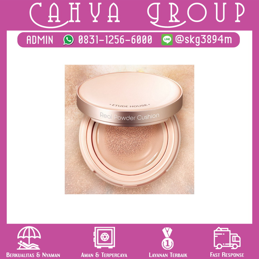 Etude Real Powder Cushion Spf50 Pa 14gr N02 Light Beige Daftar Apieu Air Fit Spf50pa 23 Natural Set Free Refill Source Photo