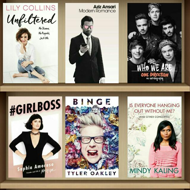 Nonfiction Ebooks (Autobiographies, Anthologies etc)