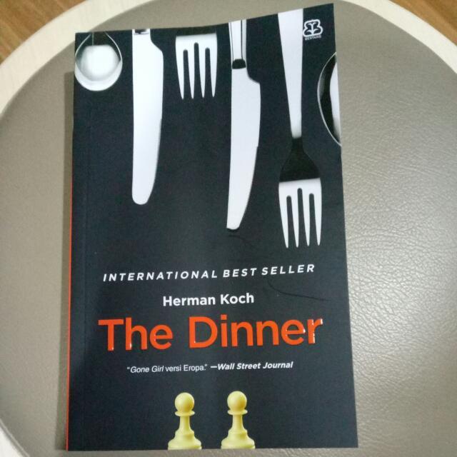 Novel : The Dinner