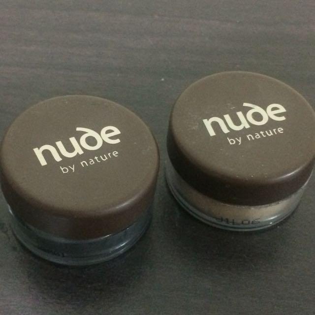 Nude By Nature Eyeshadow Bundle