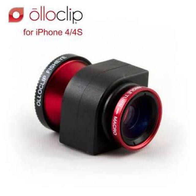 Olloclip 3-IN-ONE Lens - iPhone 4/4s