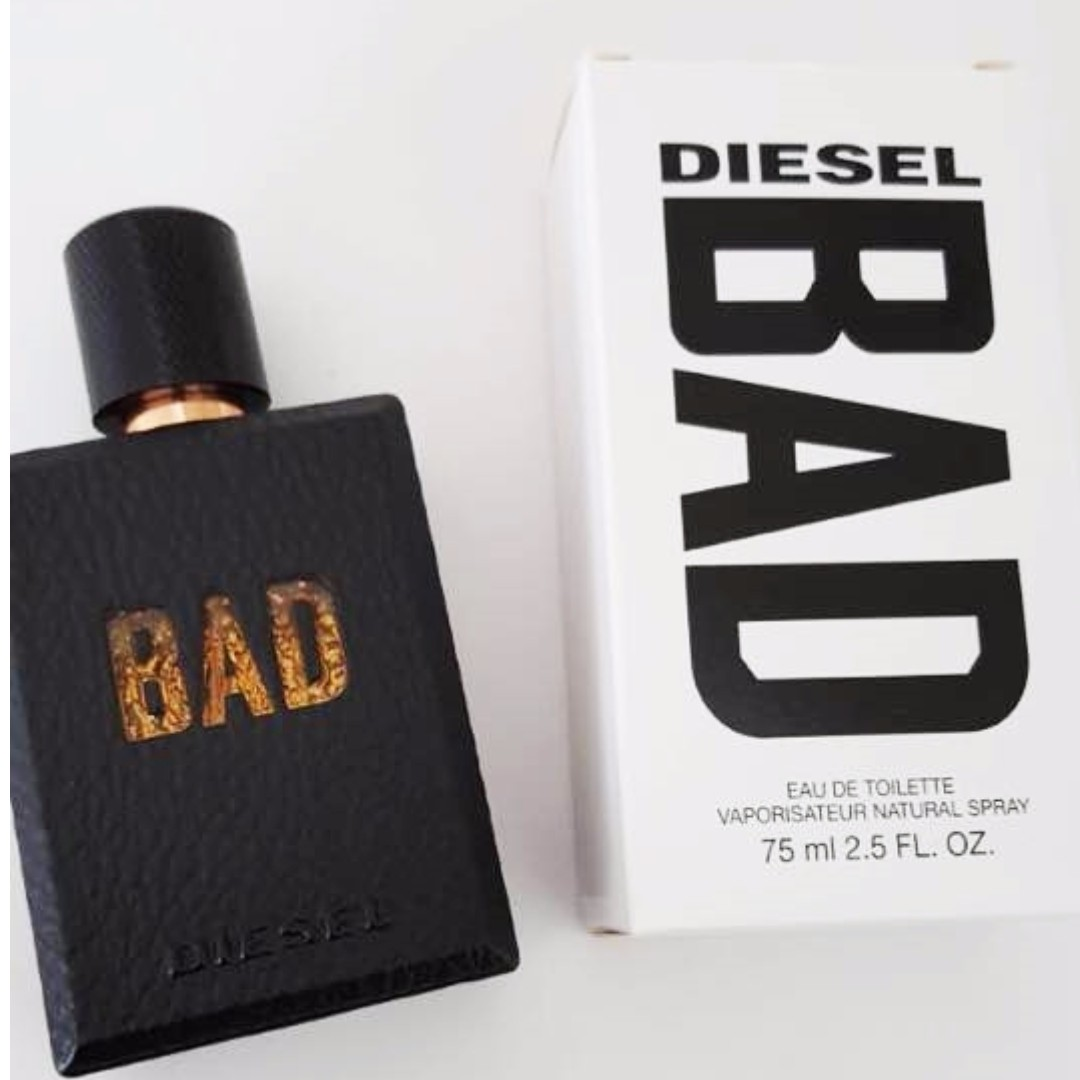 Perfume Diesel Bad Edt 75ml Tester Health Beauty Perfumes