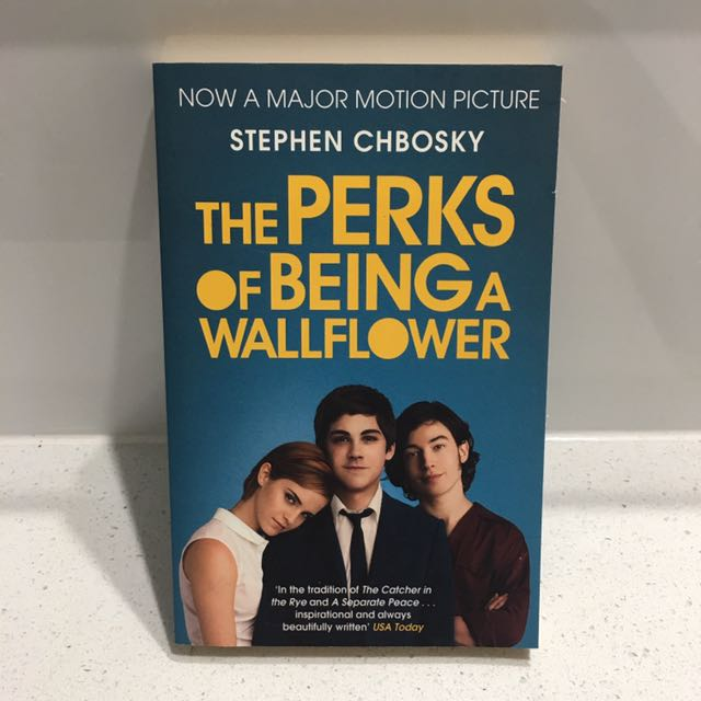 PERKS OF BEING A WALLFLOWER by STEVEN CHBOSKY