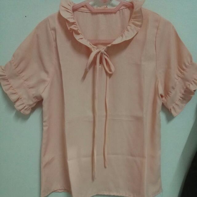 Pink Blouse #midnightsale