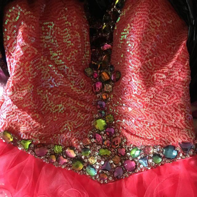 Pink Grad/Prom Dress