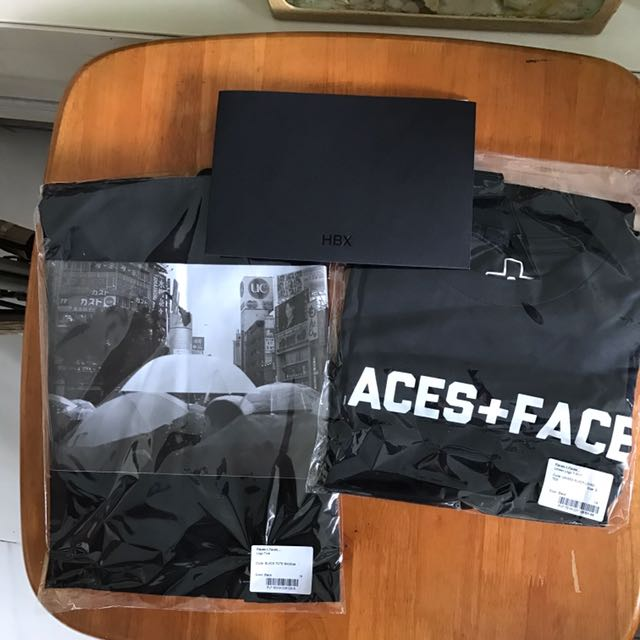 Places Faces X Hbx Landmark Tote Bag Black Hk Exclusive