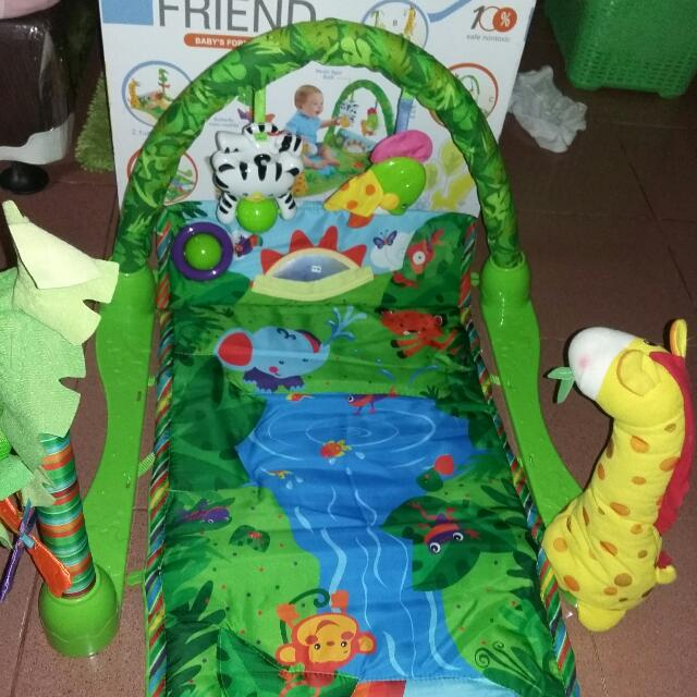 PLAYMAT BABYGIFT GOOD FRIEND BABY'S FOREST GYM