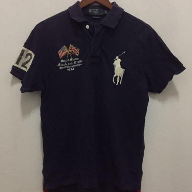 9e2e5a97 Polo Ralph Lauren 012 USA polo t, Men's Fashion, Clothes on Carousell