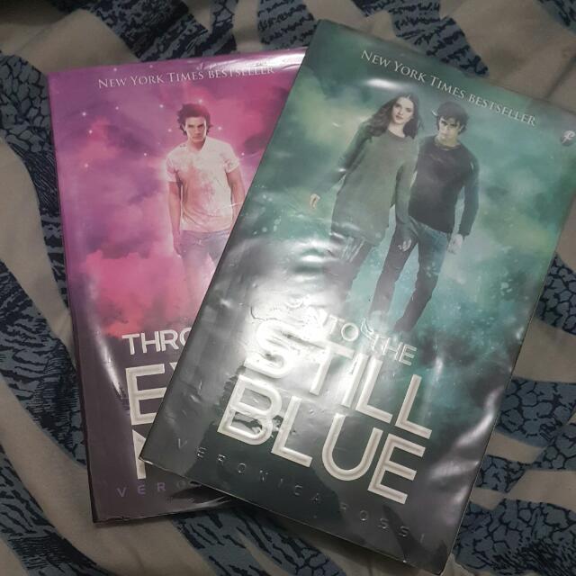 Preloved Under The Never Sky book 2 &3 terjemahan
