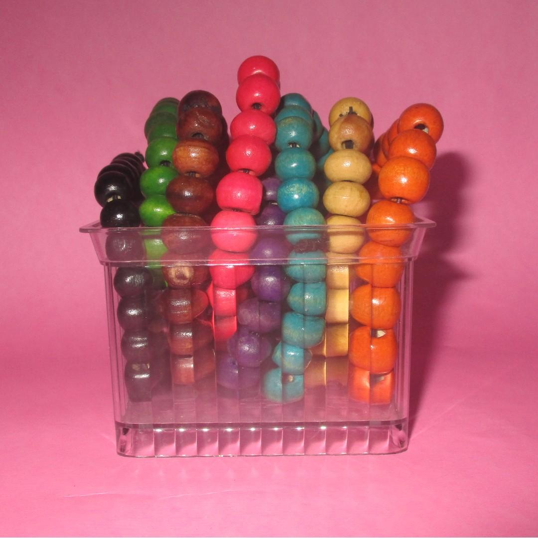 Rainbow bracelets 1 pack (gelang pelangi 1 pack)