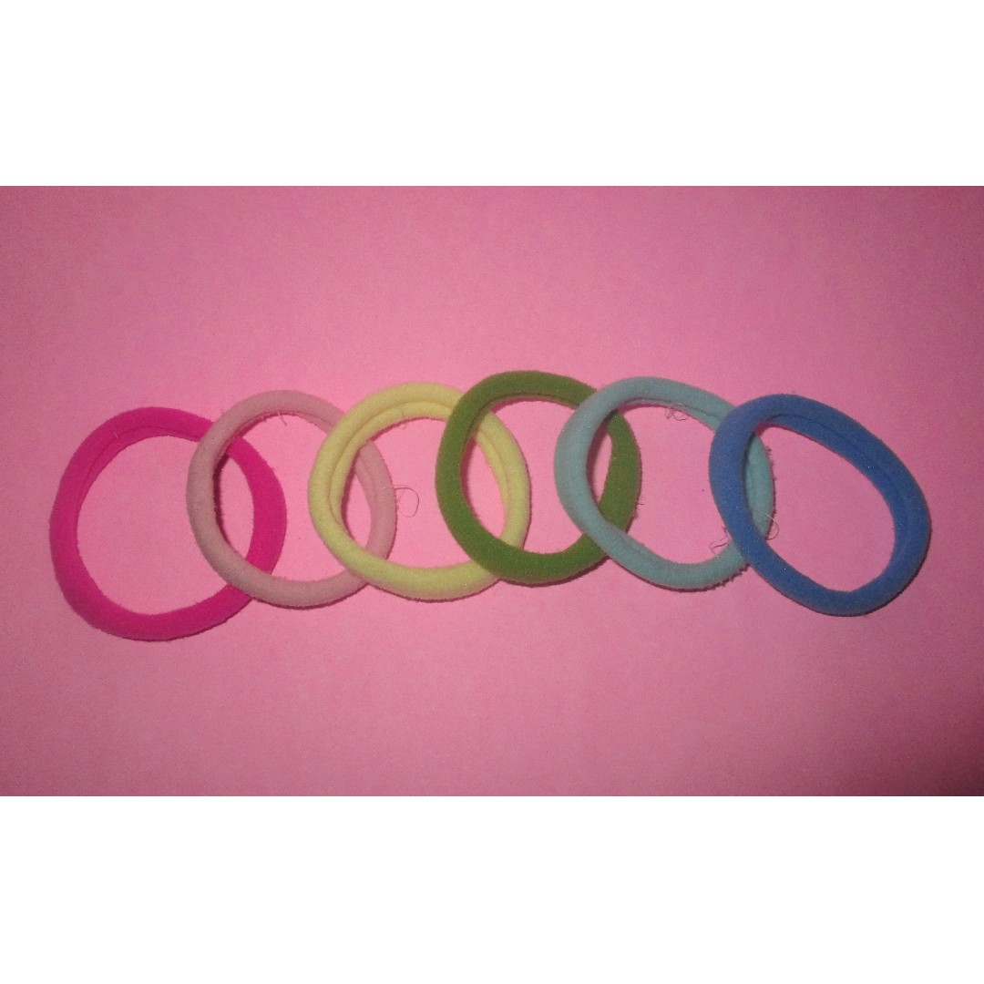 rainbow hairband 1 pack (kunciran pelangi 1 pak)