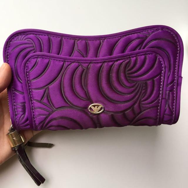 Real Armani Wallet